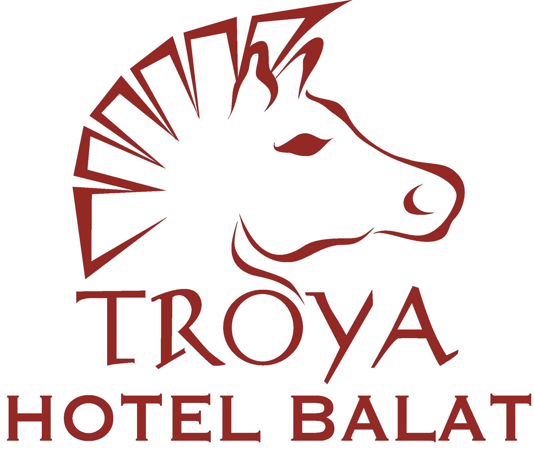 Troya Hotel Balat Logo